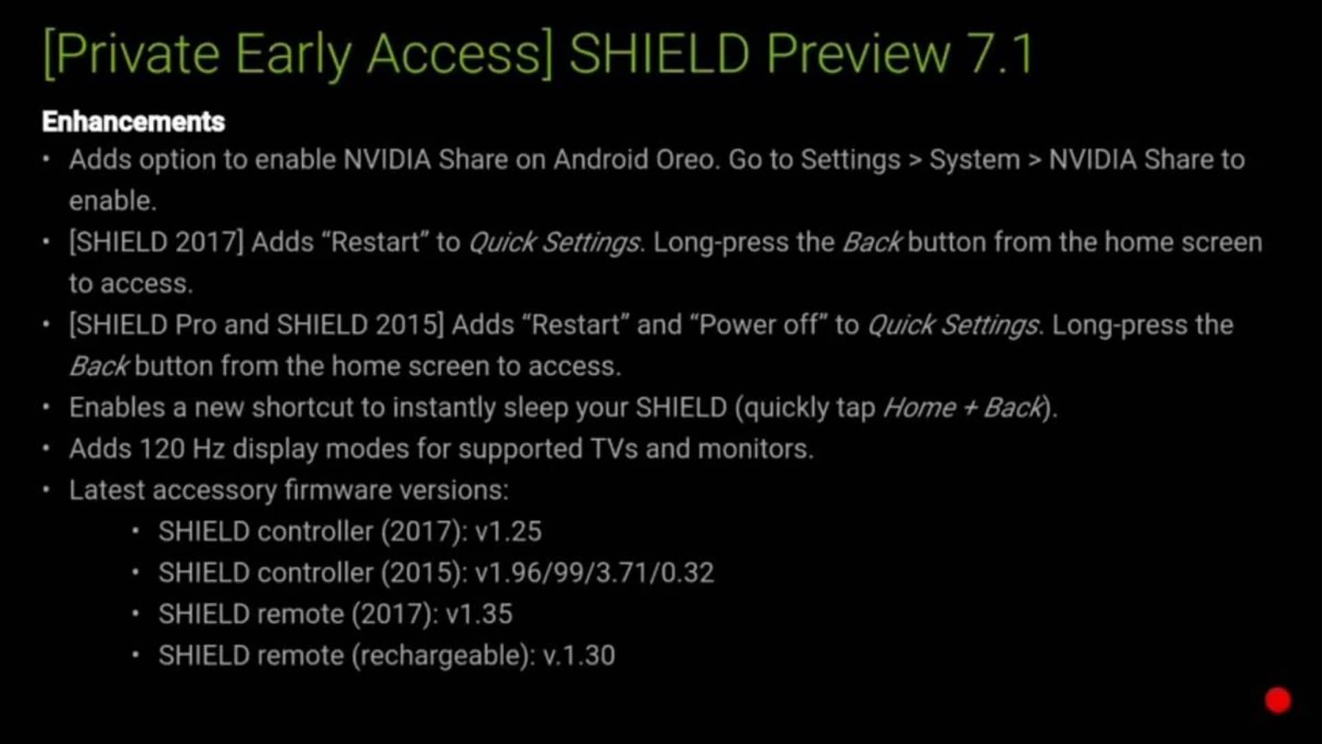 NVIDIA SHIELD UPDATE 7.1 img 02 from XDA Developers