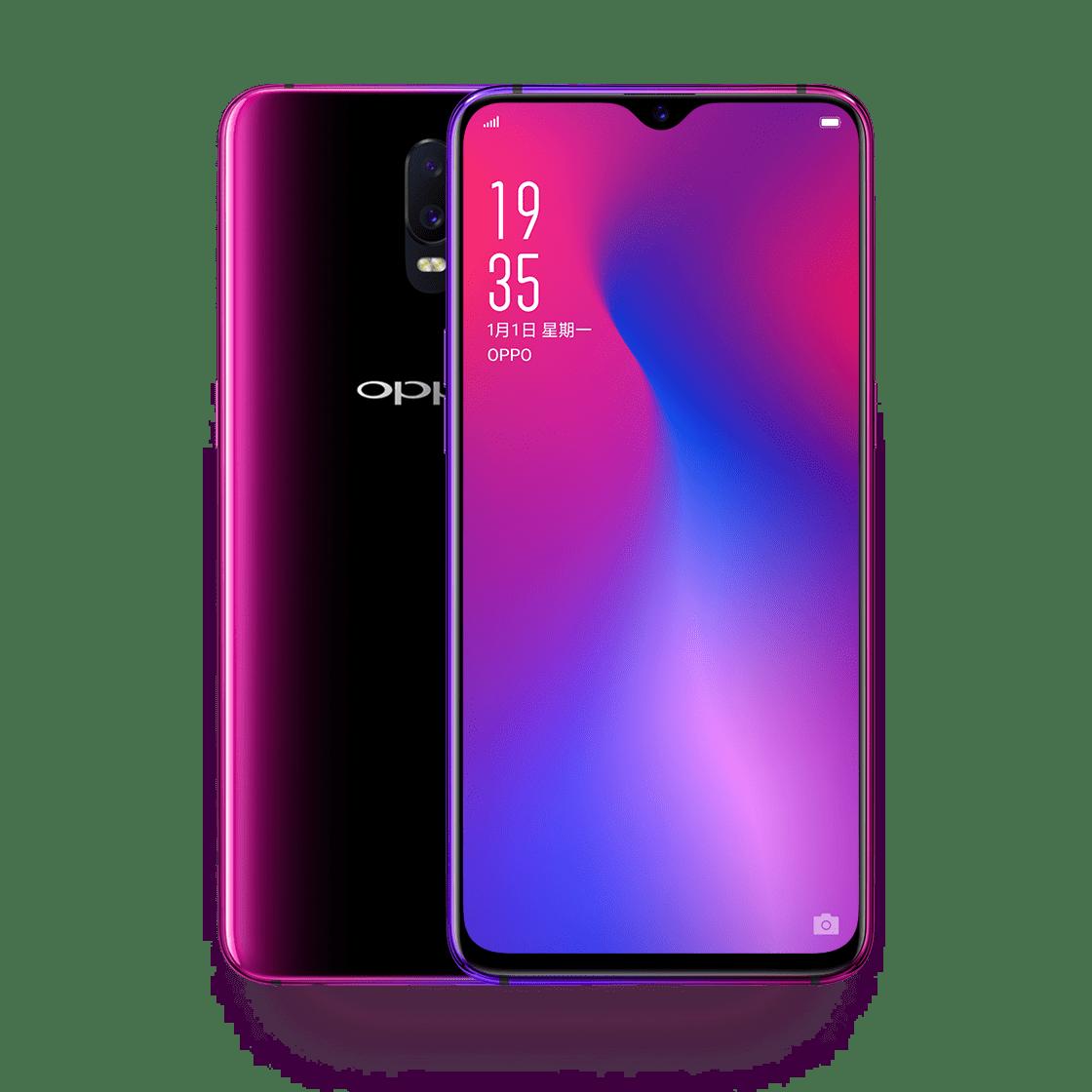 ราคามือถือ OPPO R17 - ออปโป้ R17 Color OS 5.2 baesd on Android 8.1 Qualcomm Snapdragon 670 Octa Core - ความเร็ว : 2.0 GHz
