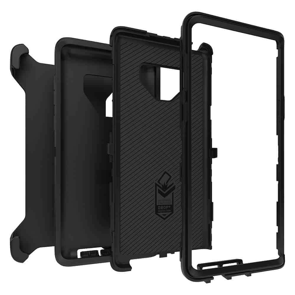 OtterBox Galaxy Note 9 def black exp