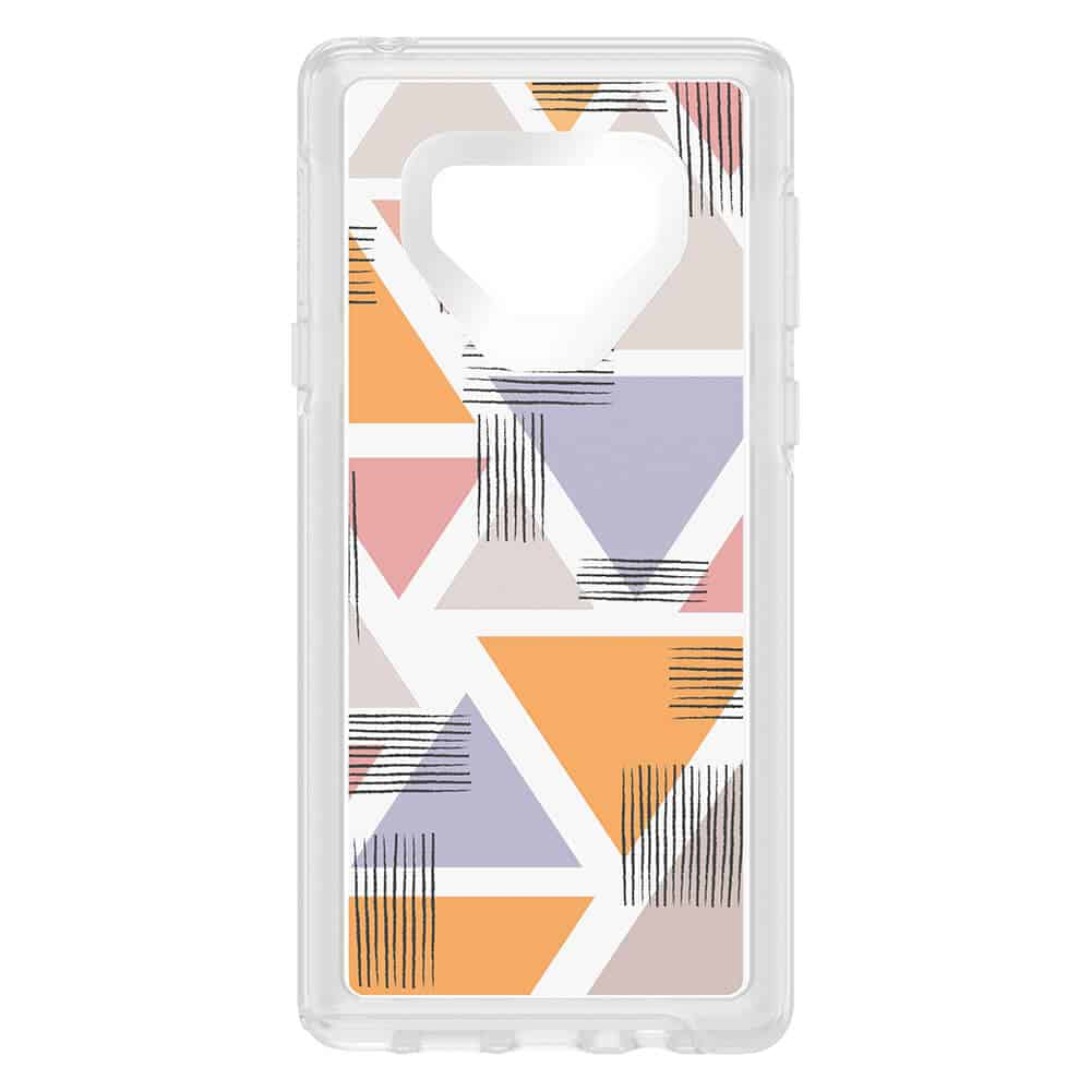 OtterBox Galaxy Note 9 sym clear iml lovetriangle b