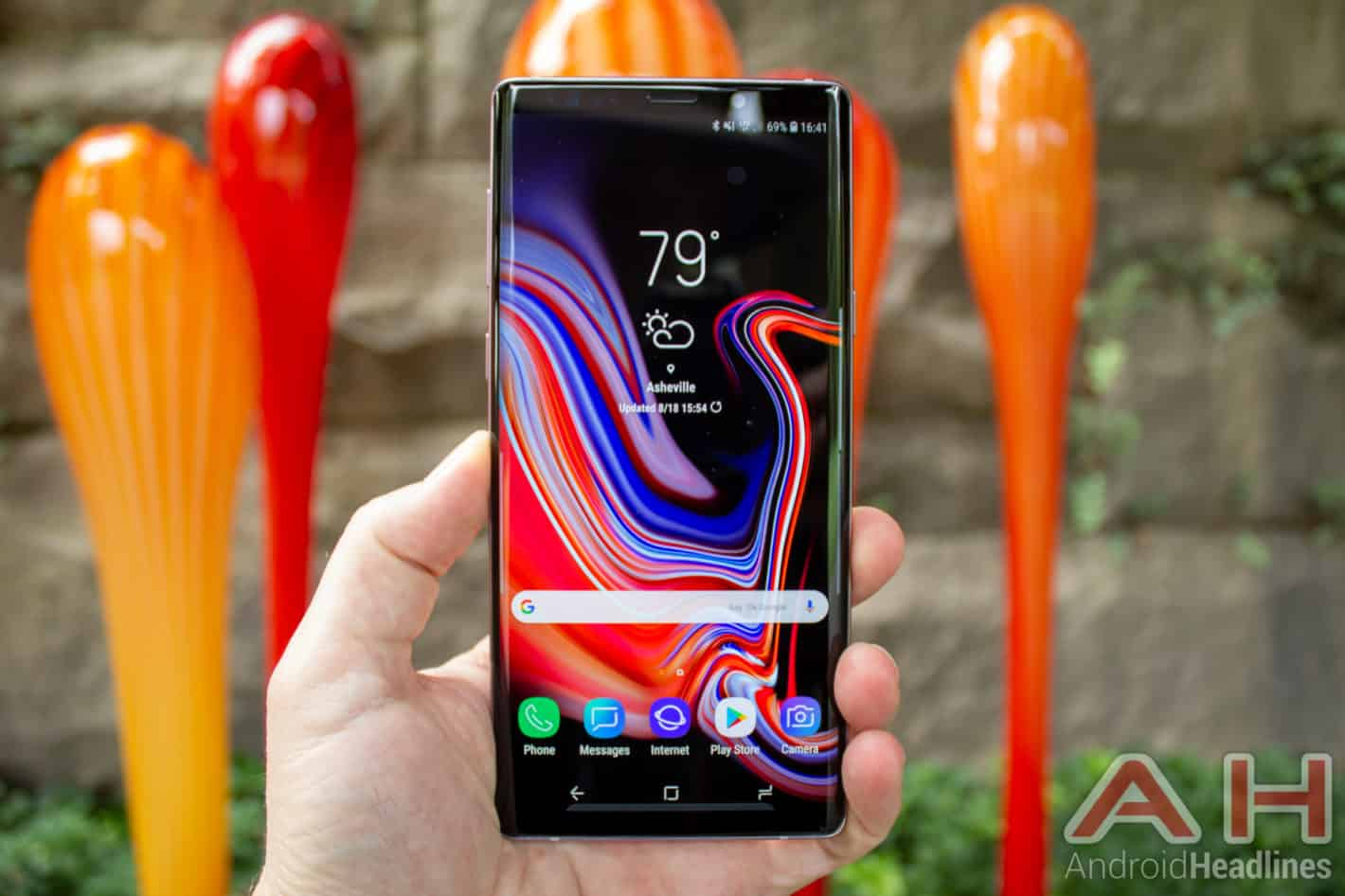 Samsung Galaxy Note 9 AH NS 08 display