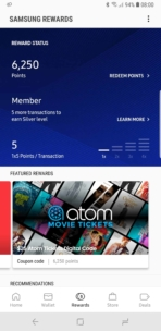 Samsung Galaxy Note 9 AH NS Samsung Pay Rewards