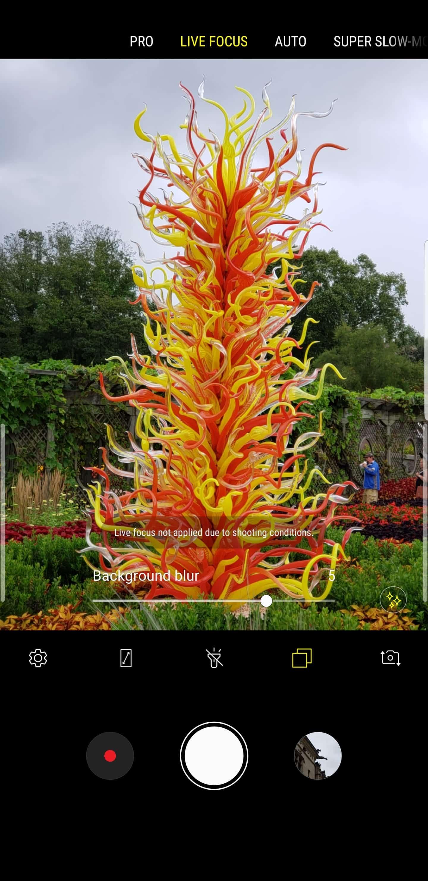Samsung Galaxy Note 9 AH NS camera live focus