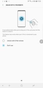 Samsung Galaxy Note 9 AH NS s pen unlock