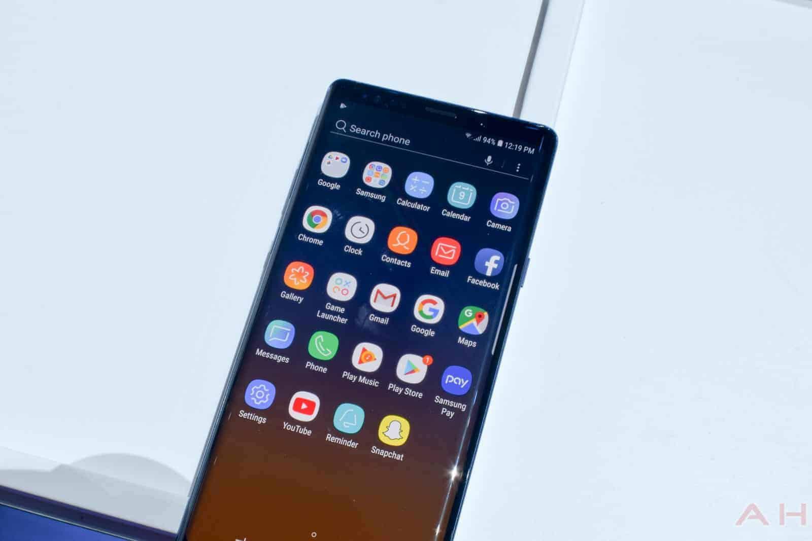 Samsung Galaxy Note 9 AM AH 15