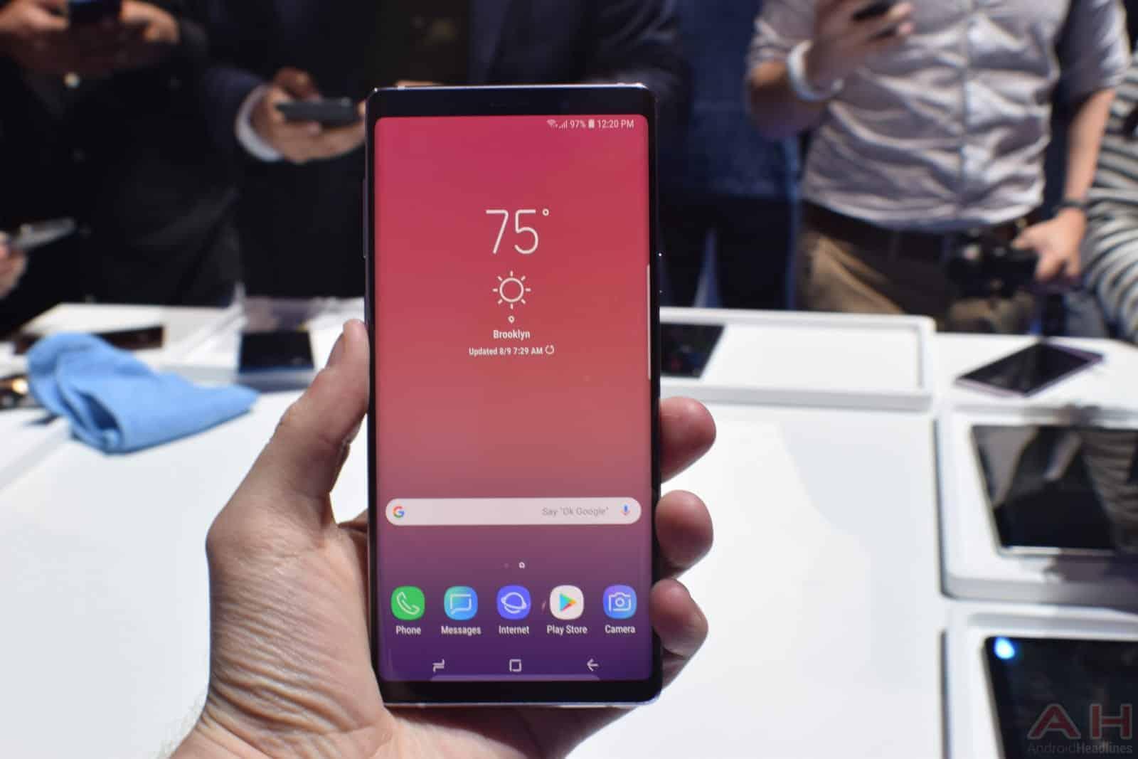 Samsung Galaxy Note 9 AM AH 18