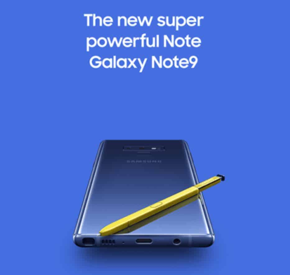 Samsung Galaxy Note 9 Promo WinFuture August 2018 3
