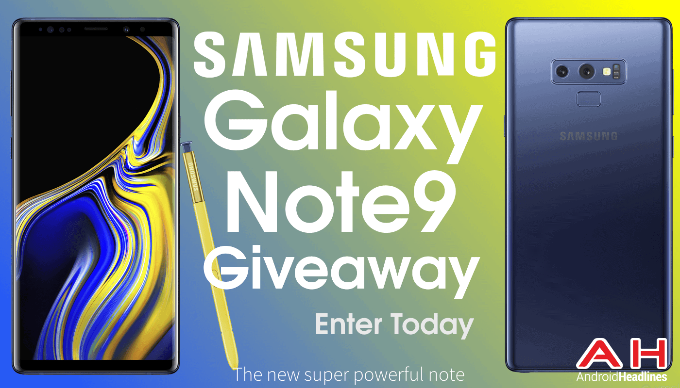 Samsung Note 9 Contest Androidheadlines compressor