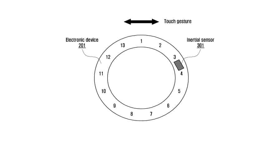 Samsung Smart Ring Patent 10