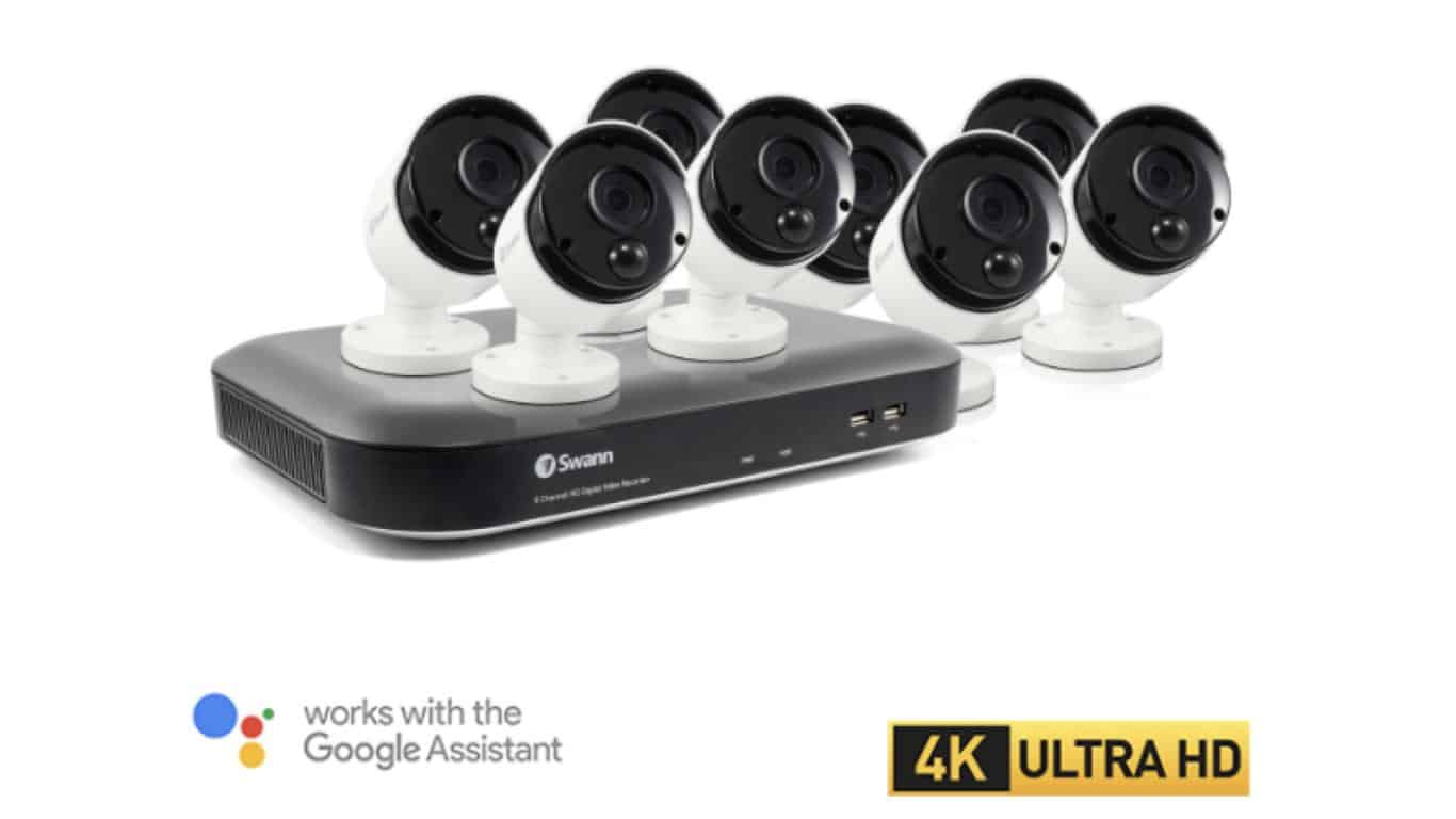 Swann Wired Security Camera with Google Assistant