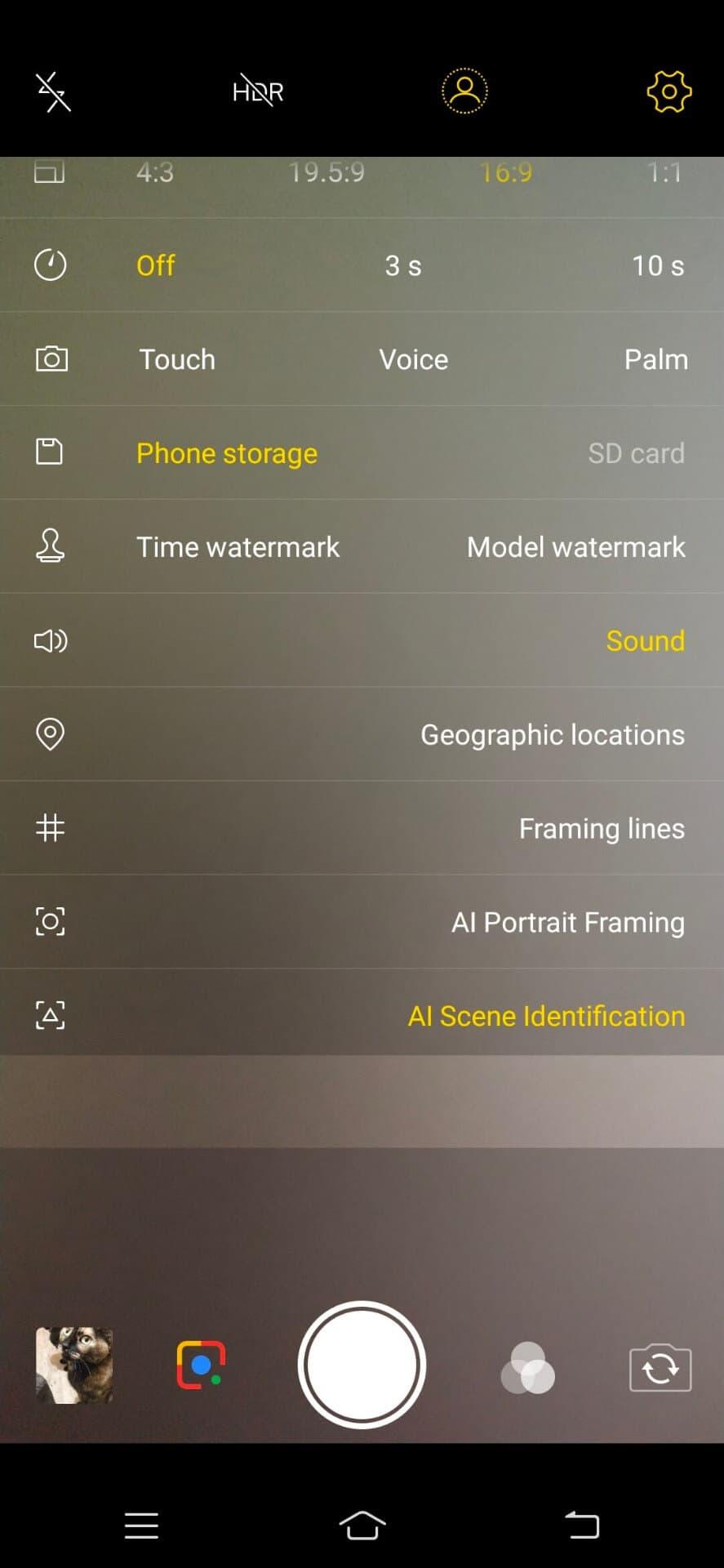 Vivo V11 Review Scrnsht Cam Software 10