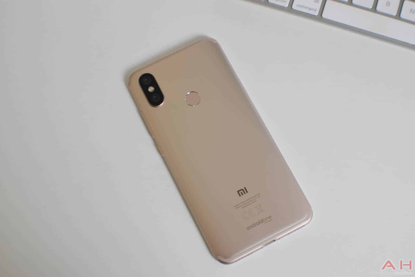 Xiaomi Mi A2 Android One Review AM AH 1