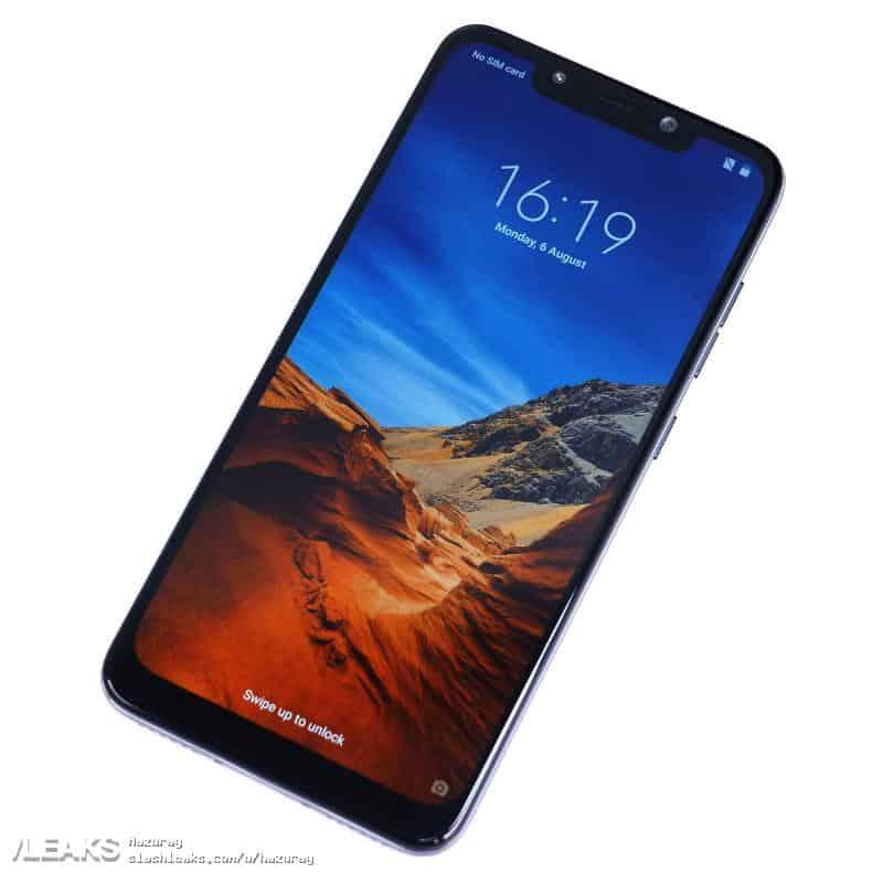 Xiaomi POCOPHONE F1 real life leak 2