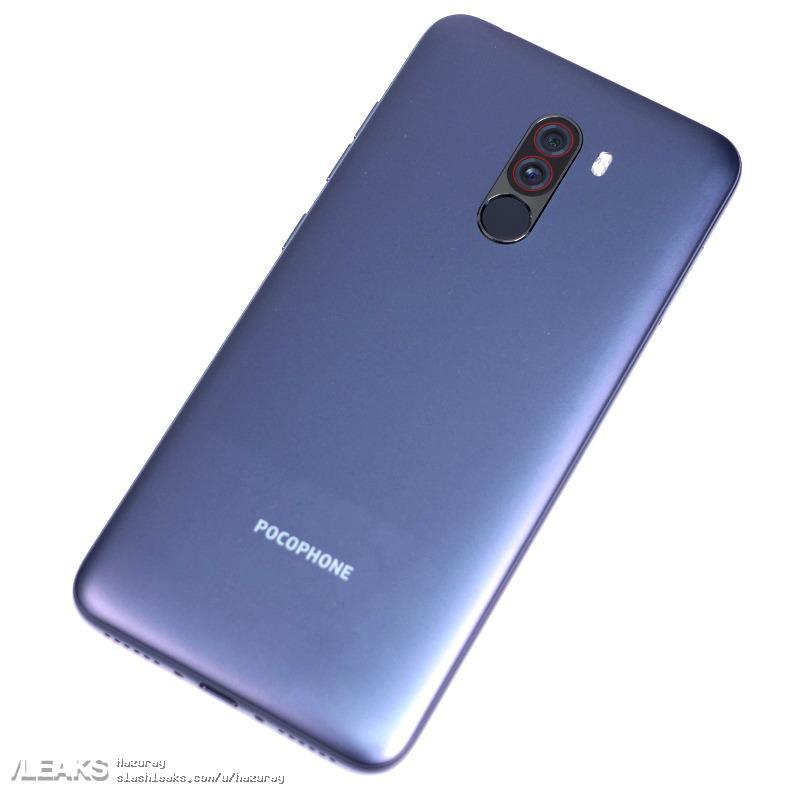 Xiaomi POCOPHONE F1 real life leak 3