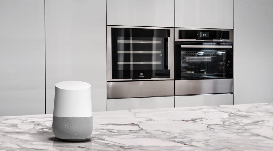 electrolux google home header