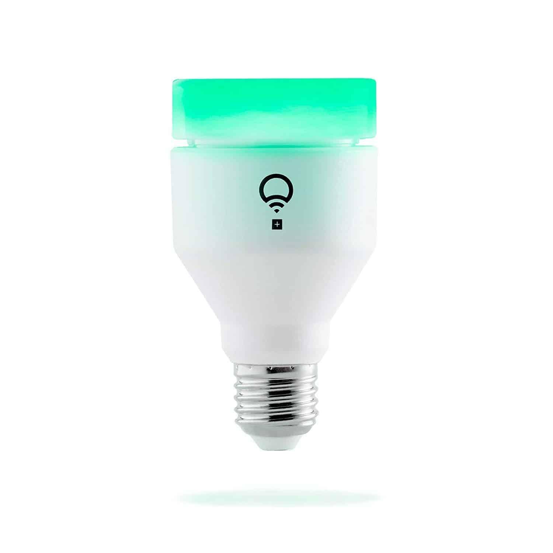 LIFX + (A19) Wi-Fi Smart LED Light Bulb