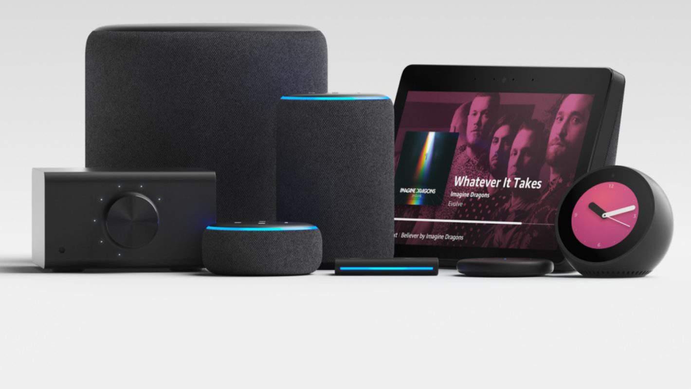 Amazon Echo Lineup AH
