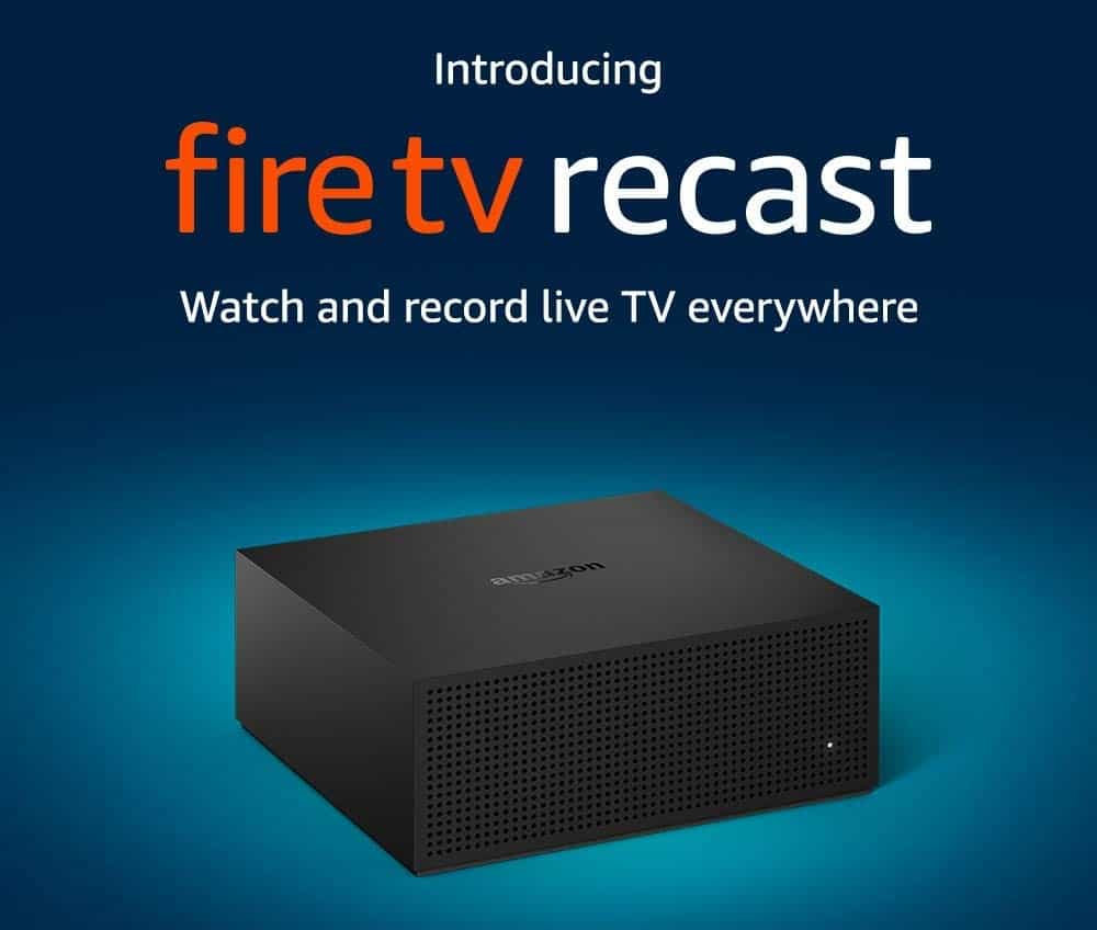 Amazon's Fire TV Recast Records Live TV, Streams To Other Devices
