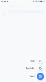Google Calendar 6.0 screen 2