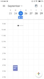 Google Calendar 6.0 screen 4