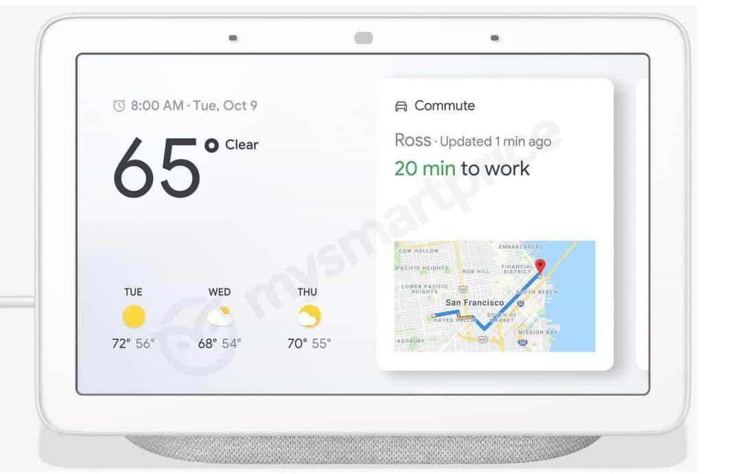 Google Home Hub Leak Front1 1068x692