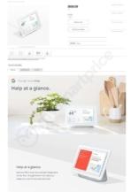 Google Home Hub Leak specifications 1