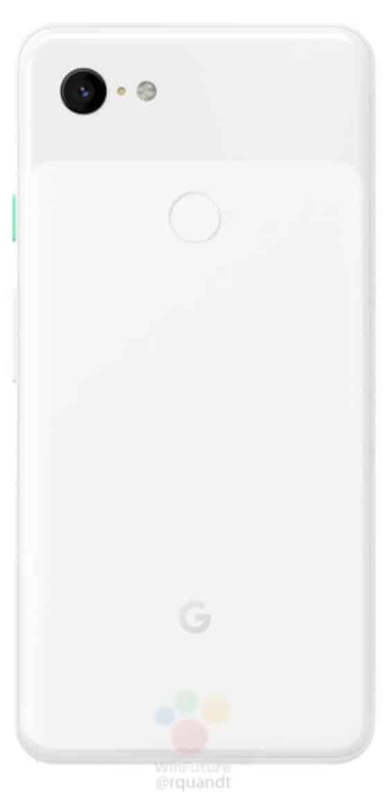 Google Pixel 3 XL Press Render from WinFuture 02