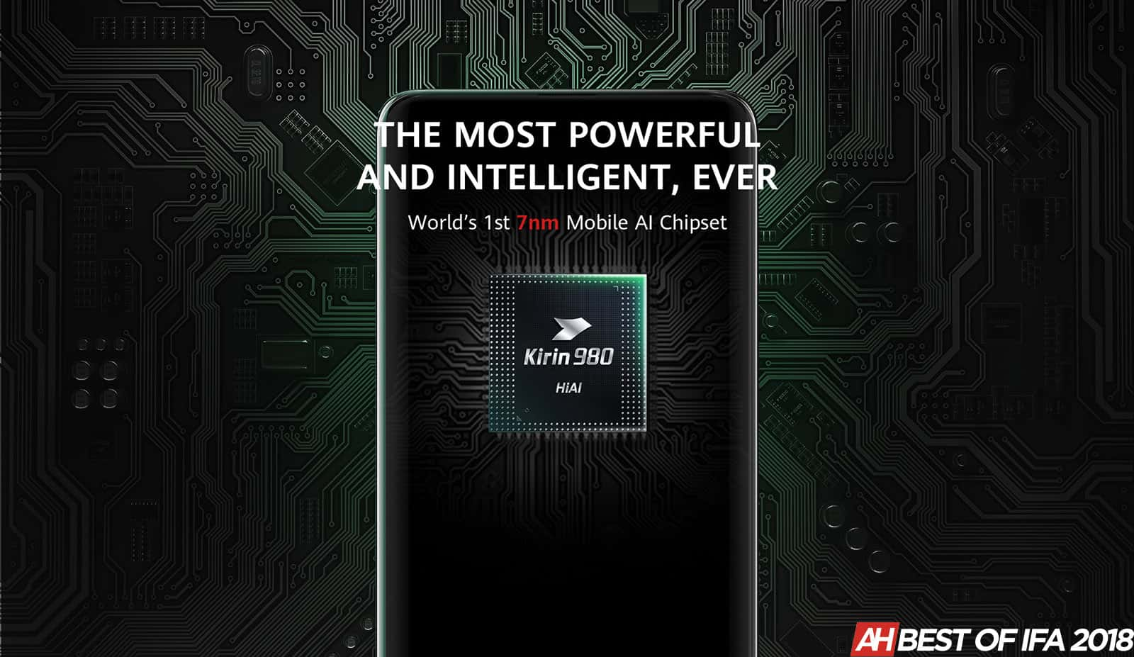 Huawei HiSilicon Kirin 980 IFA 2018 Award AH