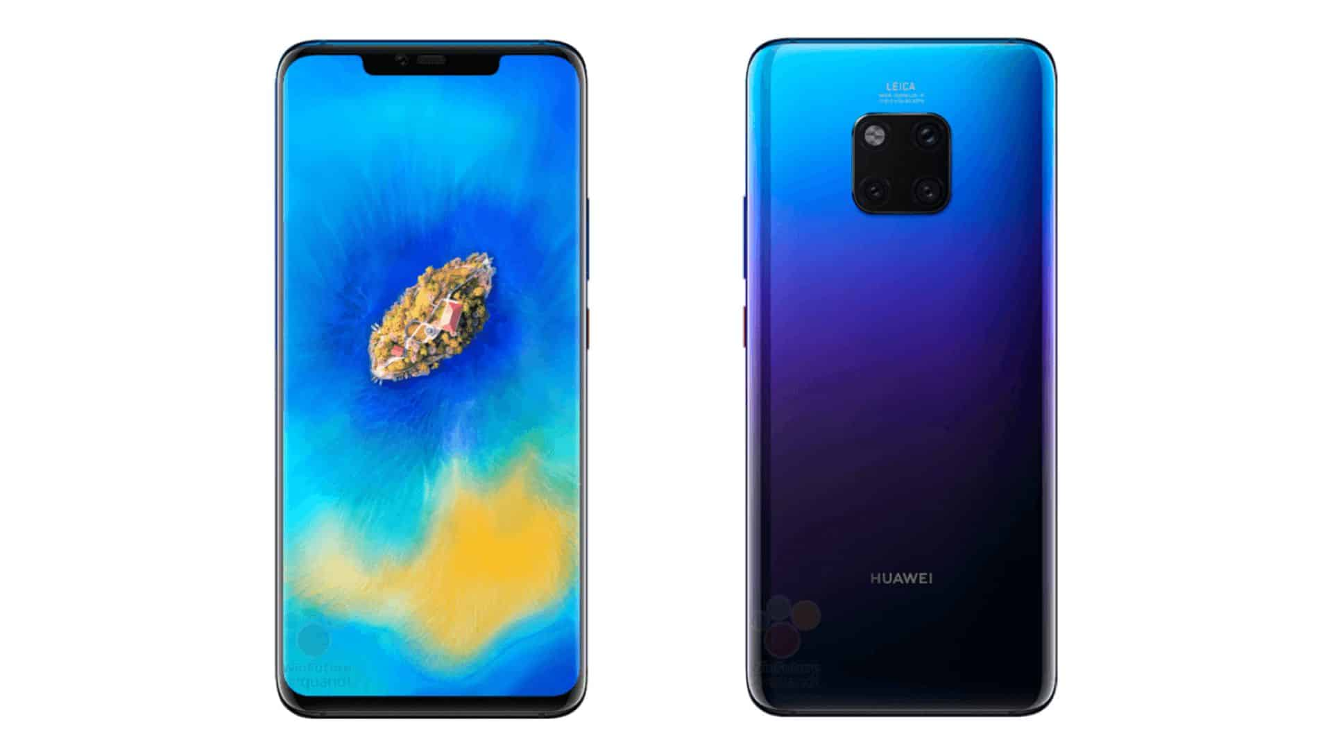 Huawei Mate 20 Pro Leaks Yet Again In Official Press ...