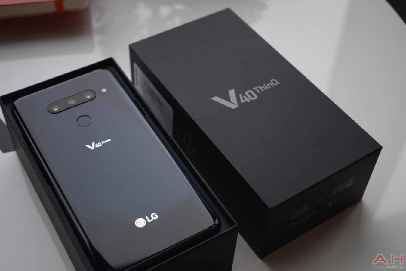 LG V40 ThinQ smartphone with five cameras launched: Specifications and more