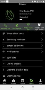 No 1 F18 Smartwatch Review app scrnsht 11
