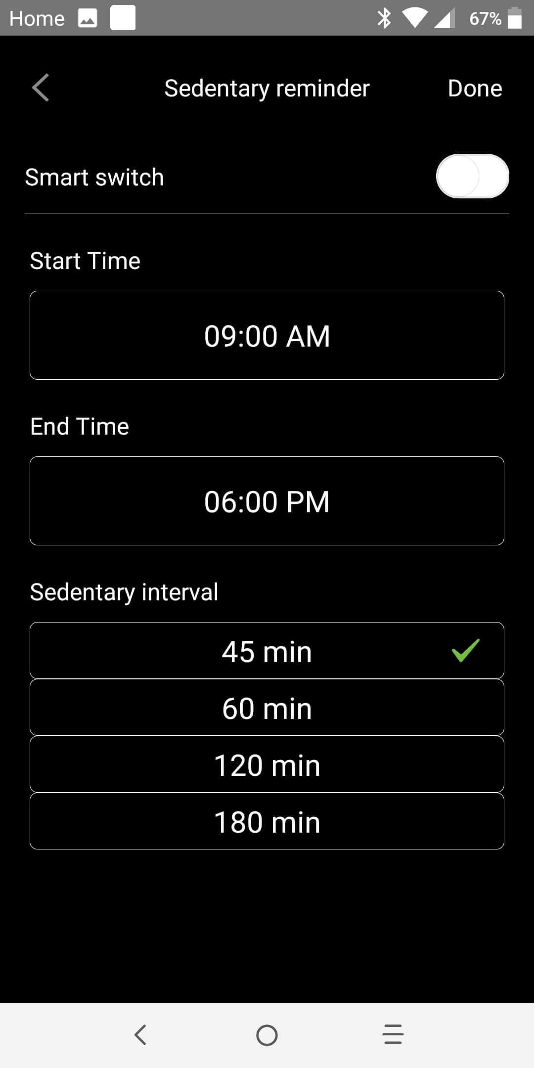 No 1 F18 Smartwatch Review app scrnsht 13