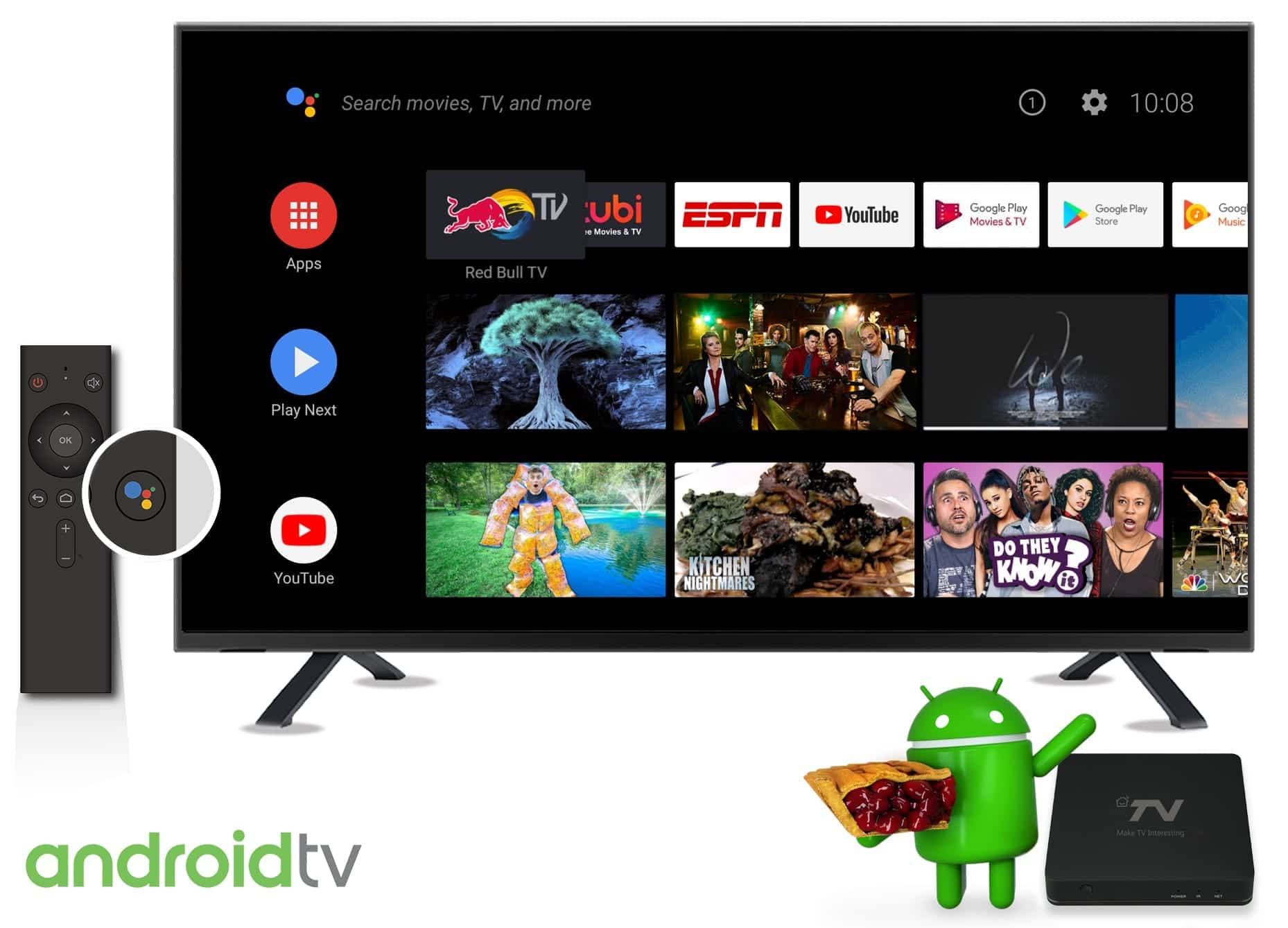 SDMC Showcases Android TV STB Running Android 9 Pie
