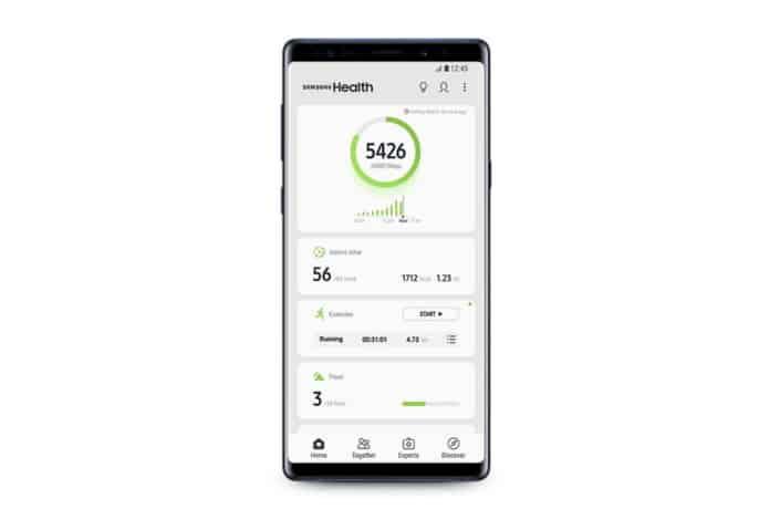 Samsung Health v6.0 update 1