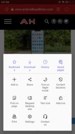 Samsung Internet 9.0 screenshot 4