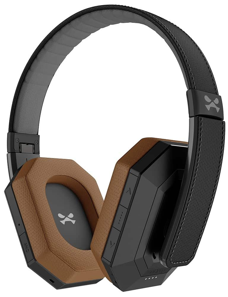 ghostek sodrop pro premium wireless bluetooth headphones black brown 2