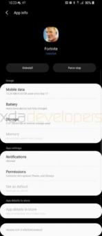 samsung android pie update 10