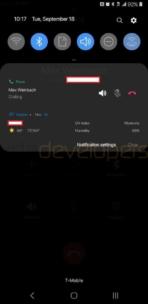 samsung android pie update 15