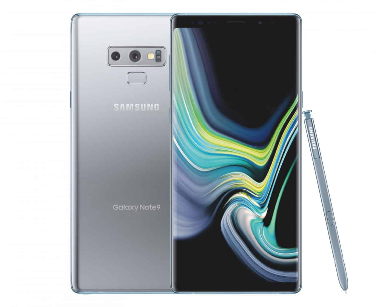 samsung announces cloud silver midnight black galaxy note 9 for the us android news. Black Bedroom Furniture Sets. Home Design Ideas