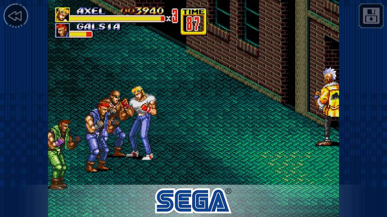 Streets Of Rage 2 Comes To Android Via Sega Forever