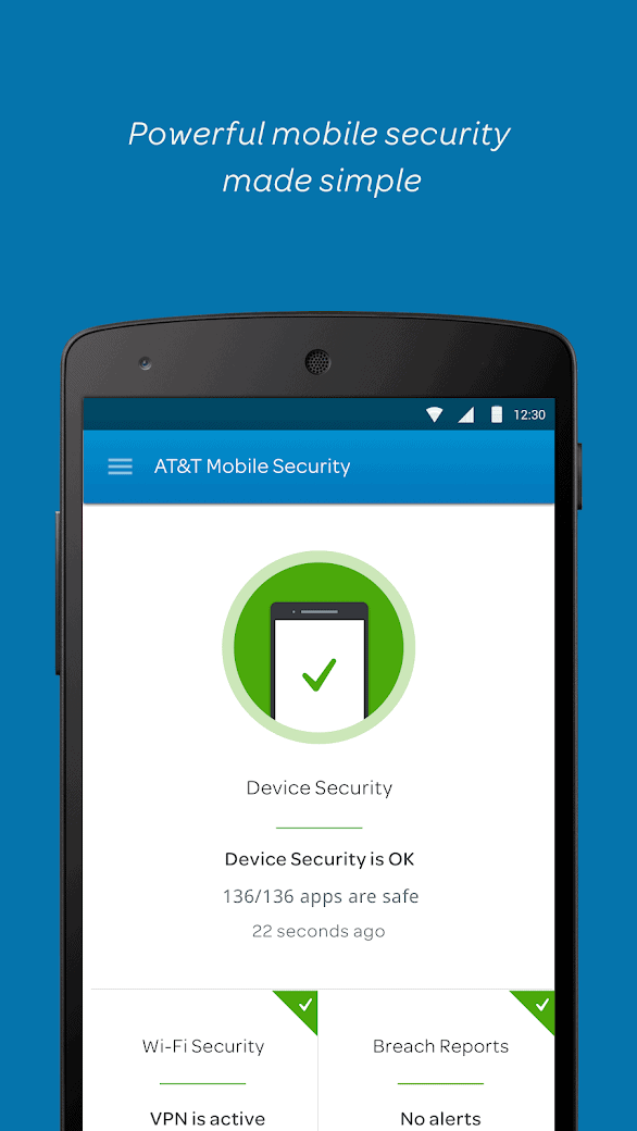 ATT Mobile Security app official image 1