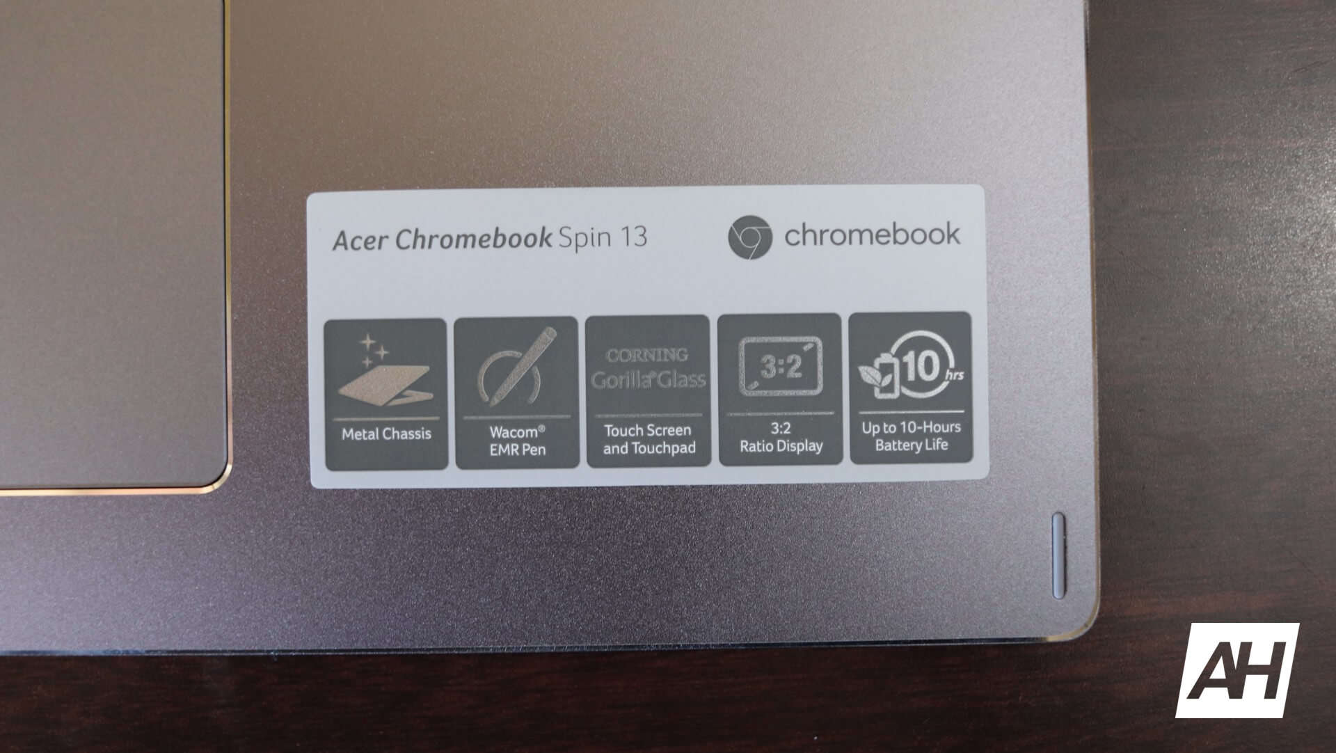 Acer Chromebook Spin 13 Review Hardware 31 AH New