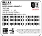 BLU Vivo XL4 FCC 1