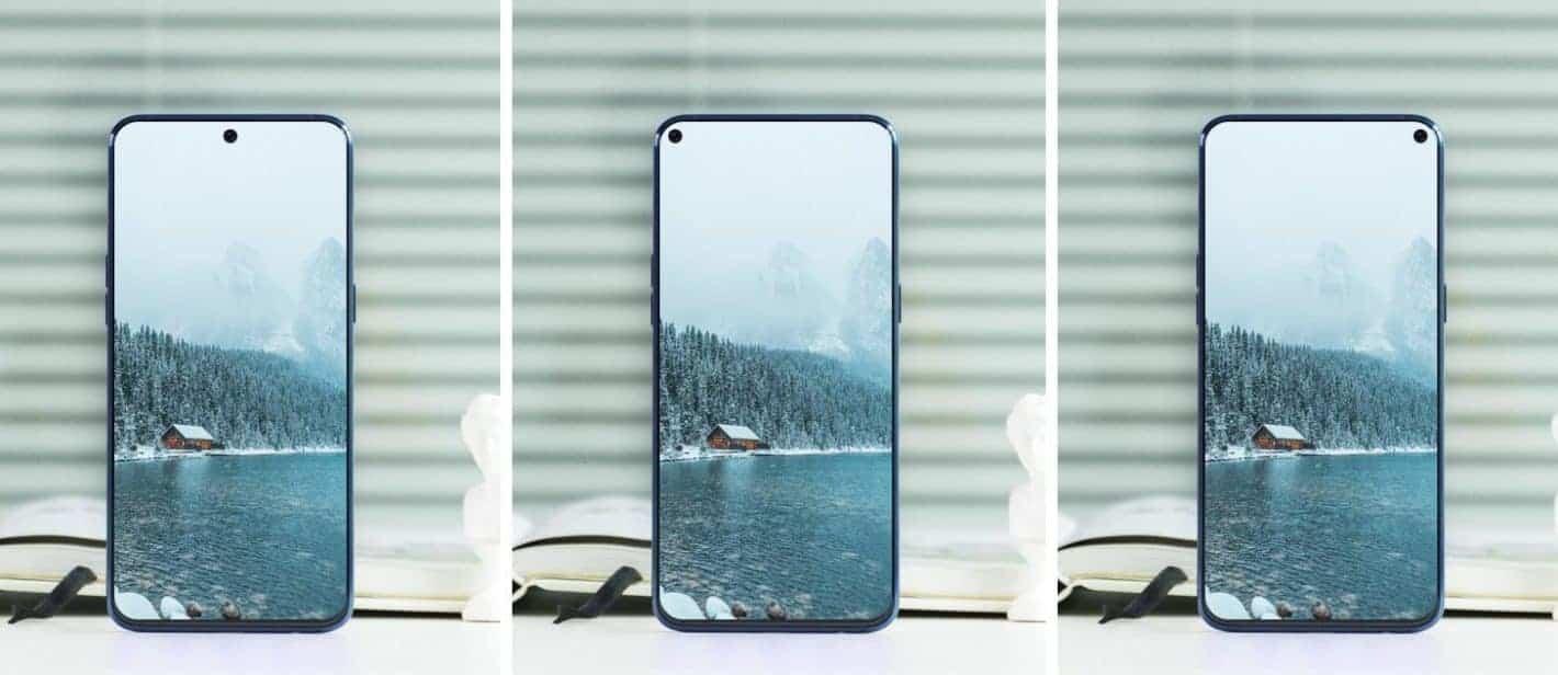 Display camera cutout concept 1