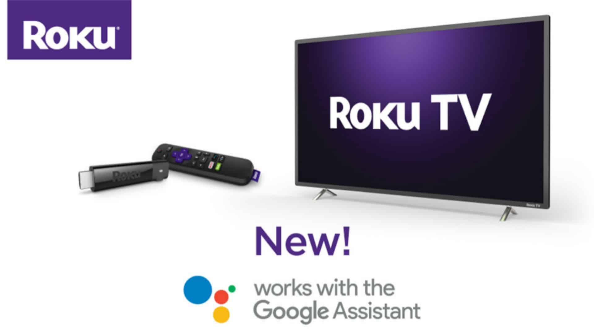 Google Assistant on Roku Press Image