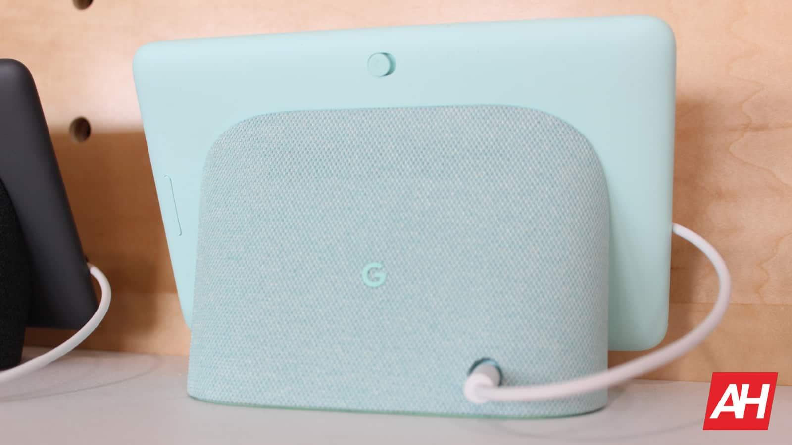 Google Home Hub New Logo AH NS aqua color