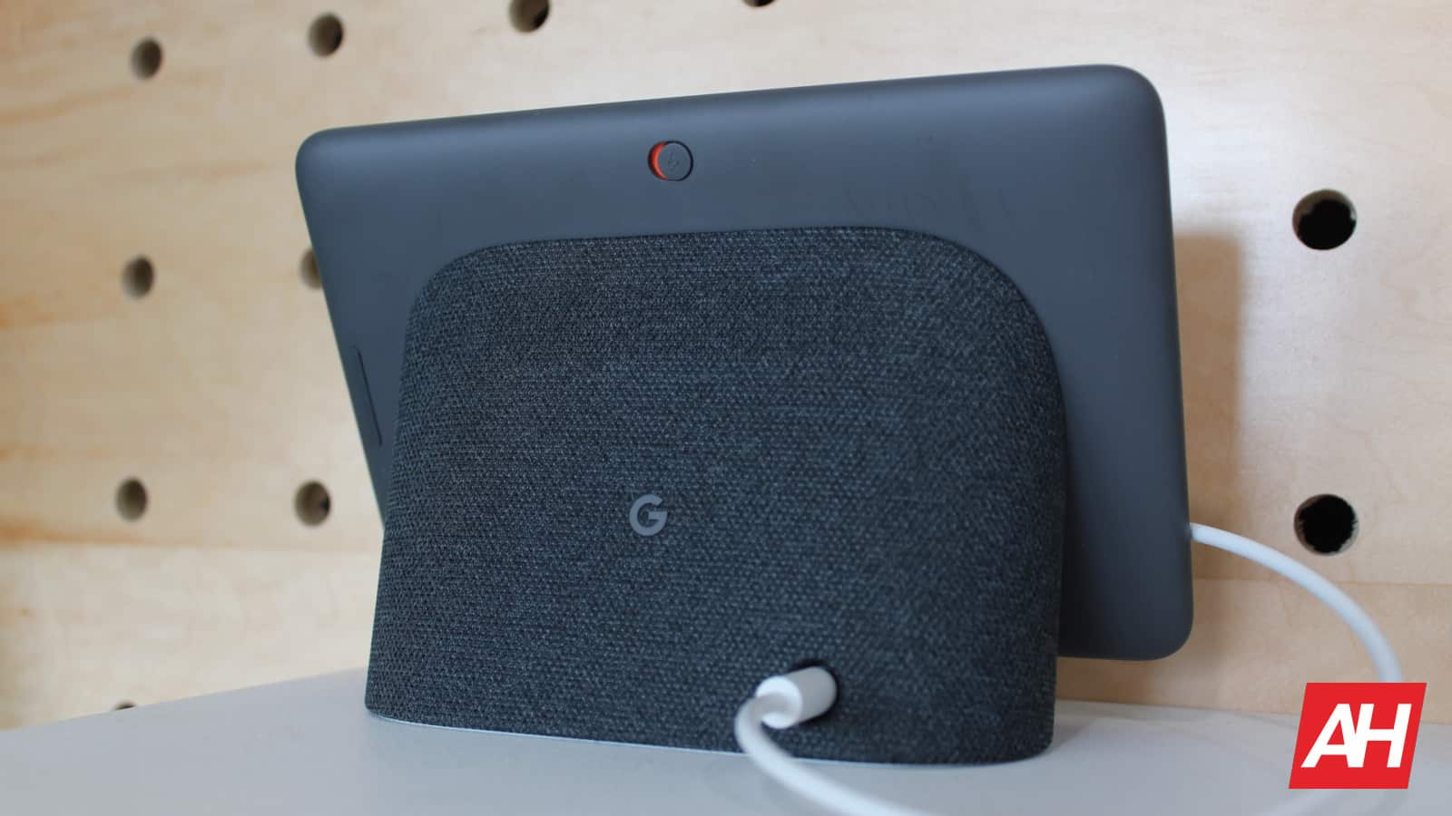 Google Home Hub New Logo AH NS charcoal color