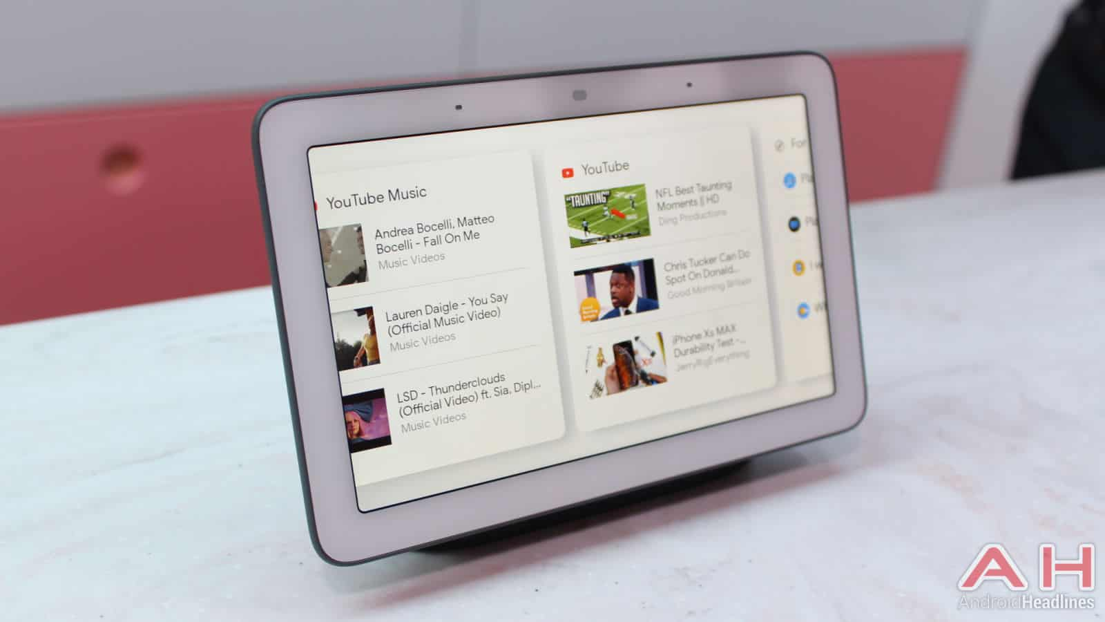 Google Home Hub Smart Display AH 10