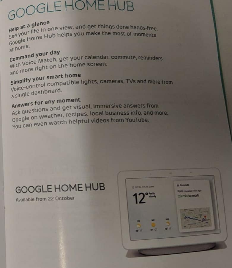 google home hub - photo #40