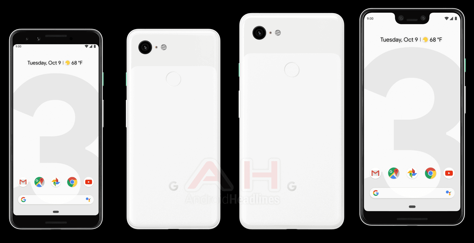 Google Pixel 3 White 1